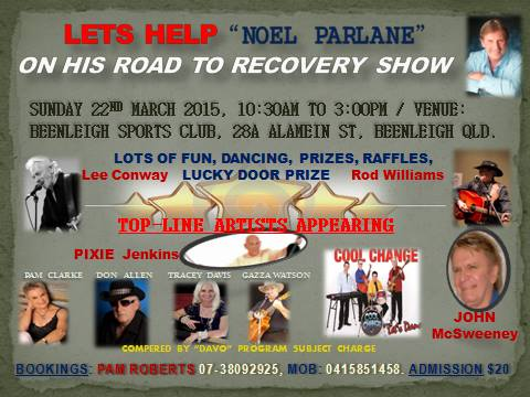 Noel Parlane Poster with Tracey Davis