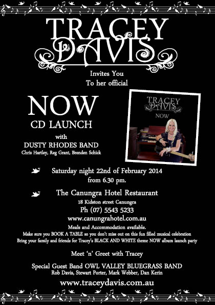 NOW CD launch