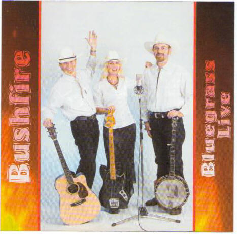 bluegrass live with bushfire band